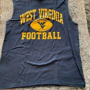 West Virginia men's muscle tee